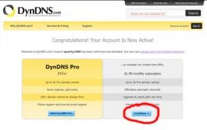 DynDNS регистрация